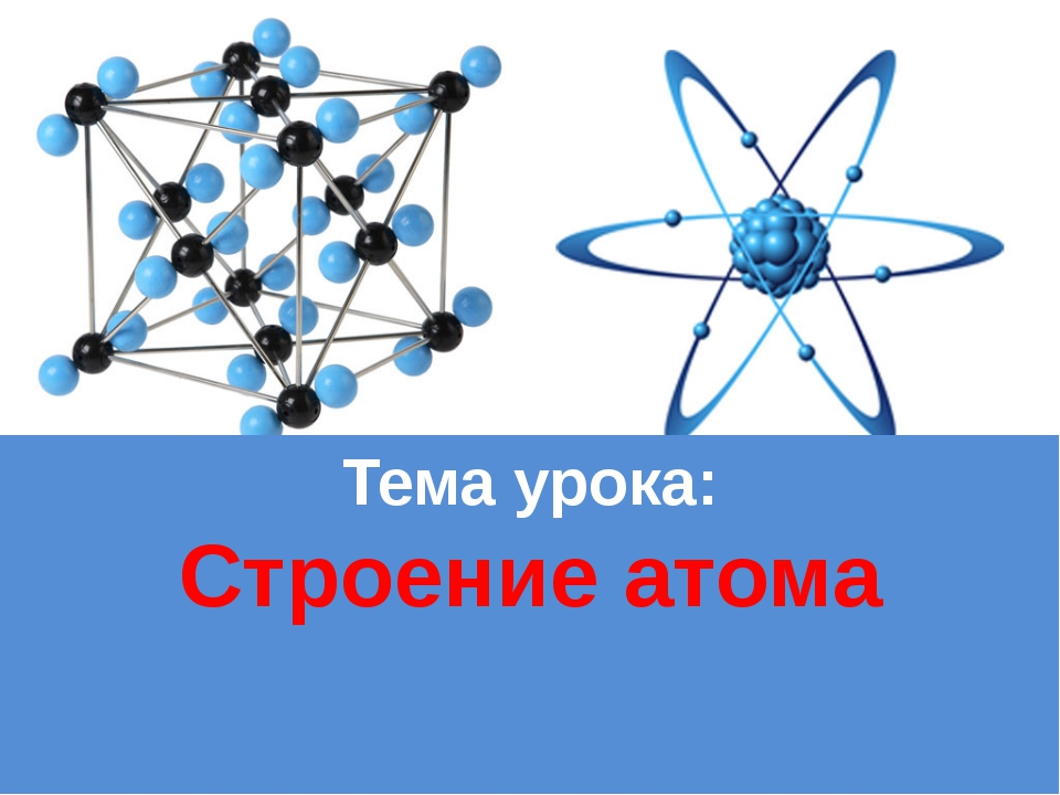 Тема урока: Строение атома ProPowerPoint.Ru