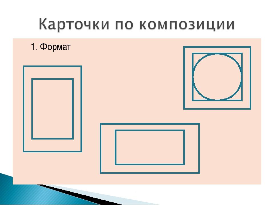 1. Формат