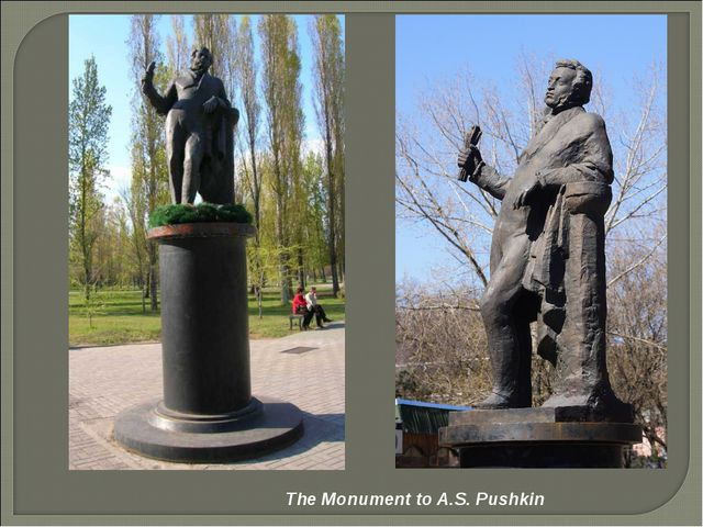 The Monument to A.S. Pushkin