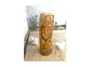 …из дерева - вырезают, …