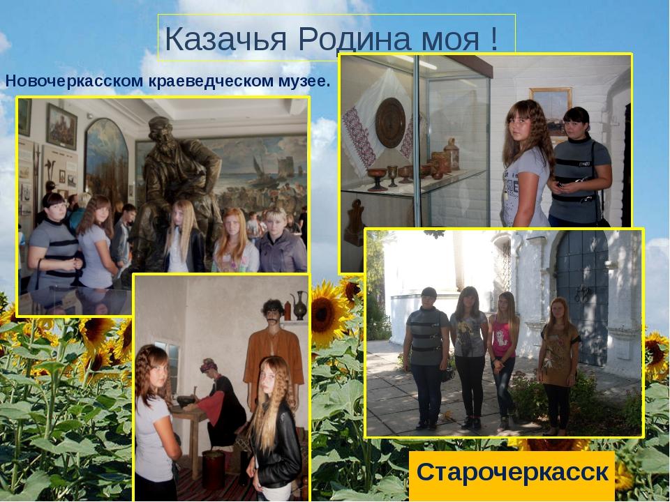 Казачья Родина моя ! В Новочеркасском краеведческом музее. Старочеркасск.