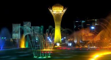 Монумент «Байтерек» в Казахстане