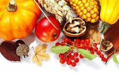Осенний урожай / Еда / Обои на рабочий стол, iPhone, iPad