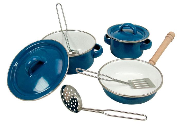 Bino Эмалевый набор для готовки, 8 предметов - купить в Москве в интернет магазине. Bino Эмалевый набор для готовки, 8 предметов