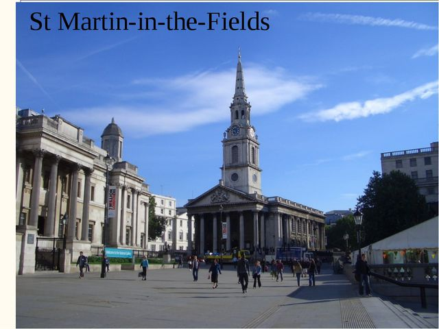 St Martin-in-the-Fields