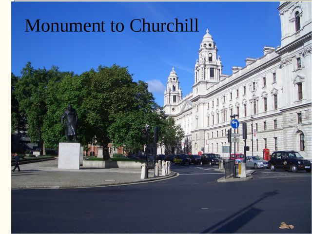 Monument to Churchill