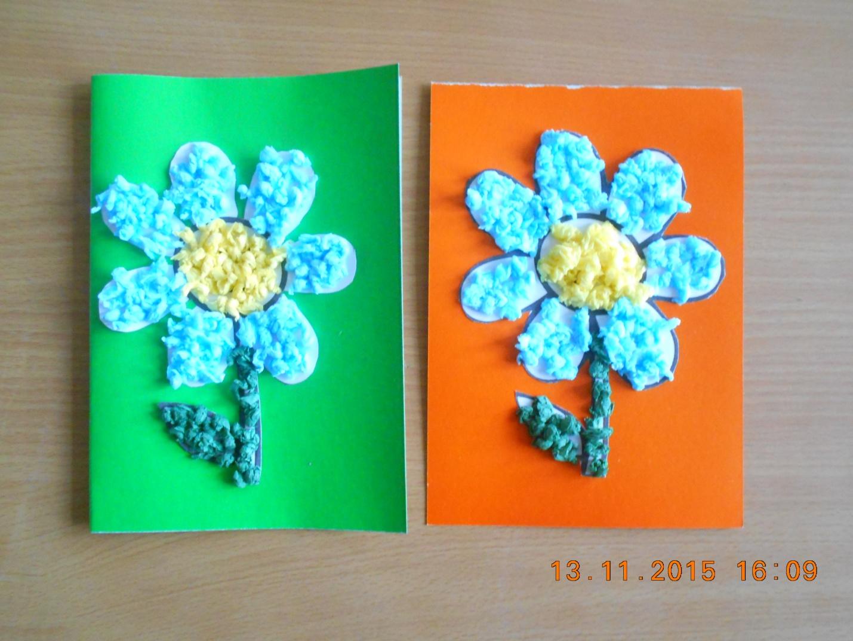Любимой, открытки из салфеток и картона