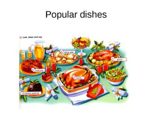 Popular dishes