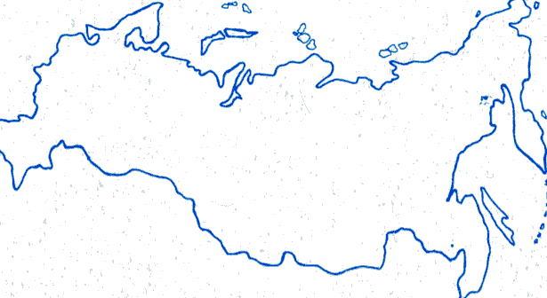 стиль контуры карты россии распечатать при смене цвета