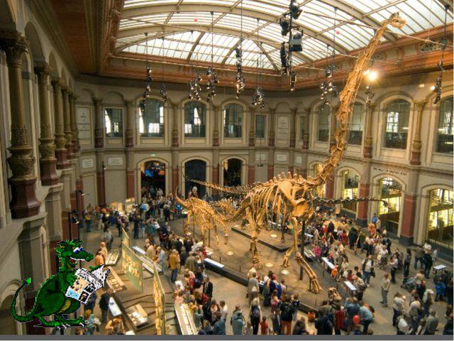 . Музей естествознания в Берлине, Германия (Museum fur Naturkunde) В этом муз...