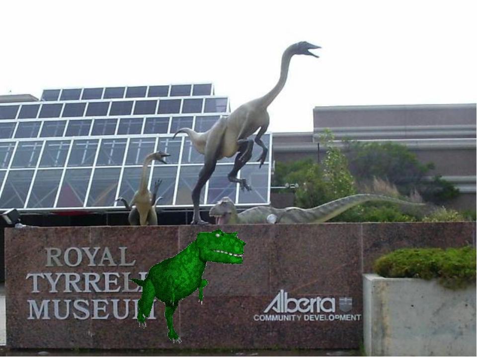 5. Королевский Тиррелловский палеонтологический музей в Альберте, Канада Данн...
