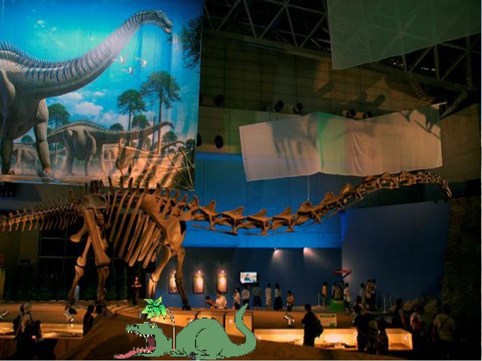 6. Центр динозавров, штат Вайоминг, США Главной достопримечательностью музе...
