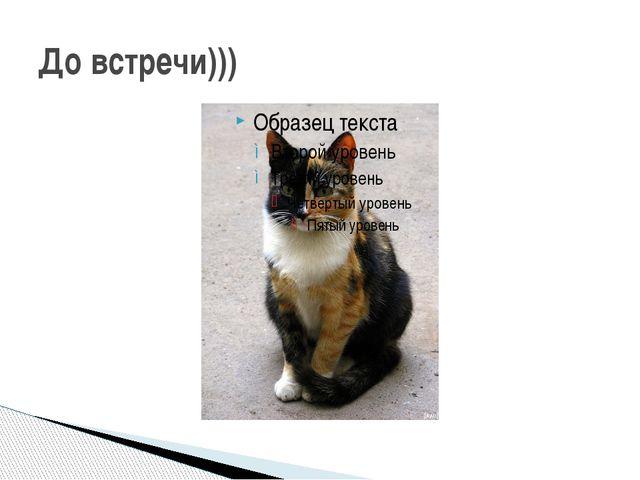 До встречи)))