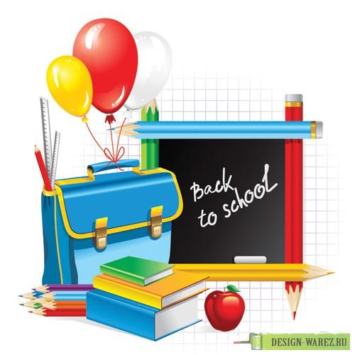 Back To School Vector Free Vector / 4Vector