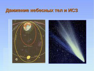 Движение небесных тел и ИСЗ