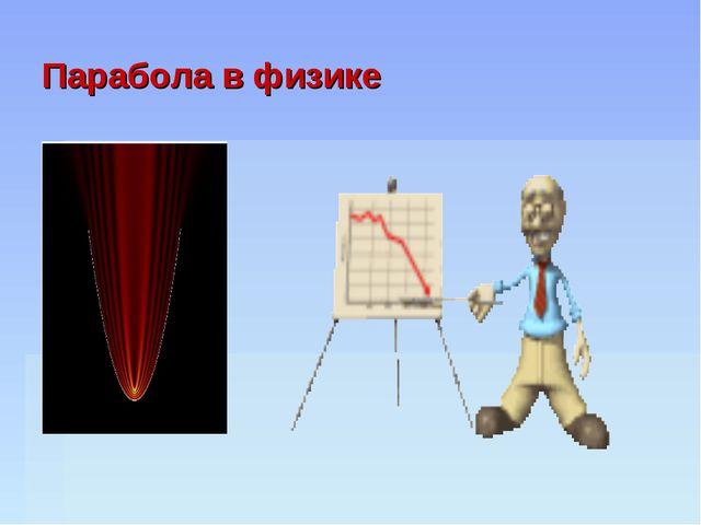 Парабола в физике