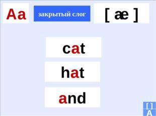 Ii открытый слог закрытый слог [ ai ] [ i ] A