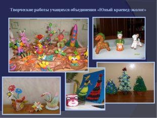 Творческие работы учащихся объединения «Юный краевед-эколог»