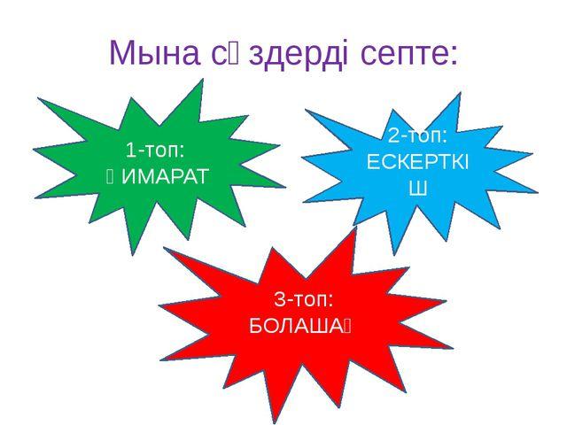 Астананың болашығын қалай елестетесің?