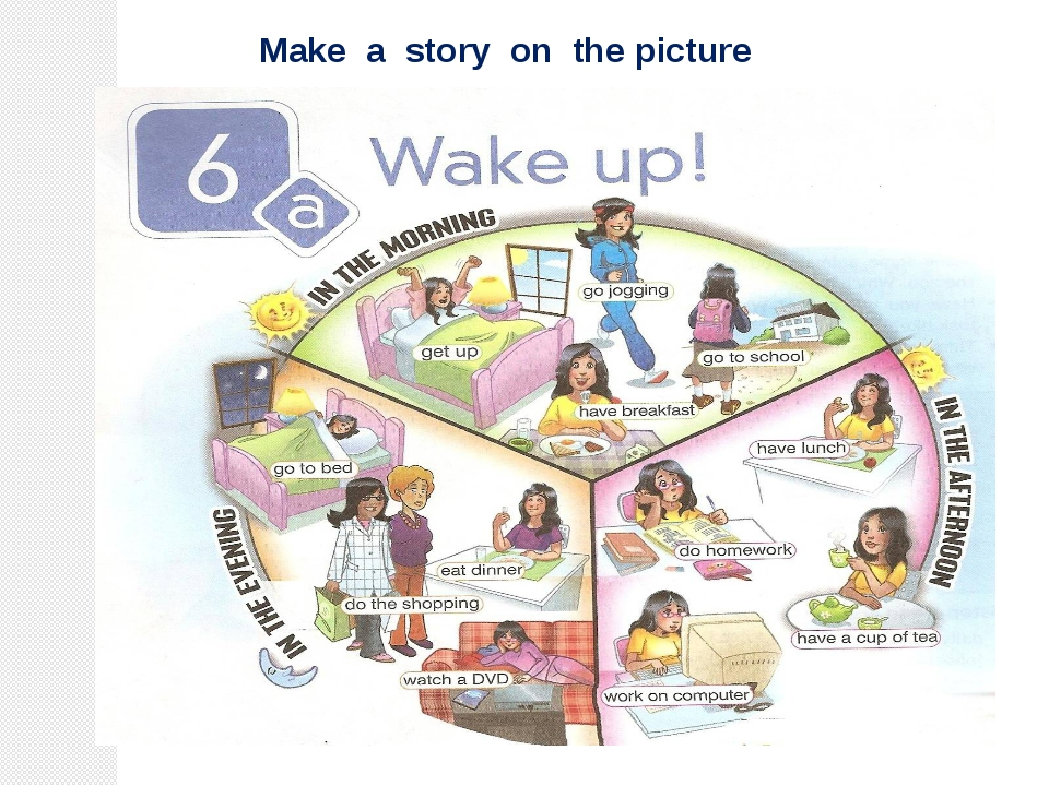 Make a story on the picture