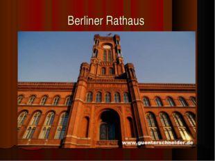 Berliner Rathaus