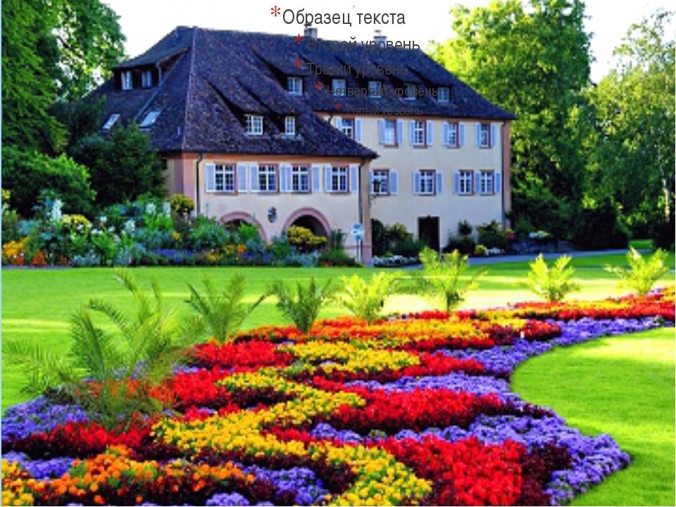 Остров цветов майнау германия