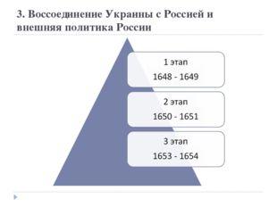 3. Воссоединение Украины с Россией и внешняя политика России