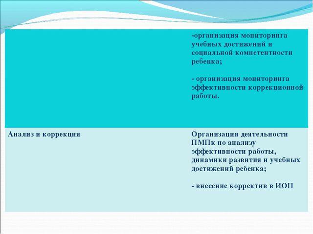 -организация мониторинга учебных достижений и социальной компетентности реб...