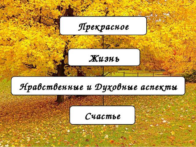 Прекрасное Жизнь Нравственные и Духовные аспекты Счастье