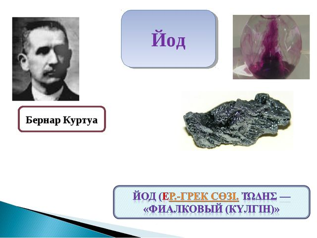Бернар Куртуа Йод