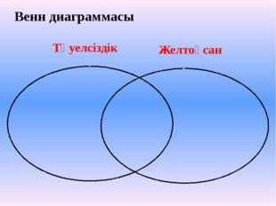 Тәуелсіздік Желтоқсан Венн диаграммасы