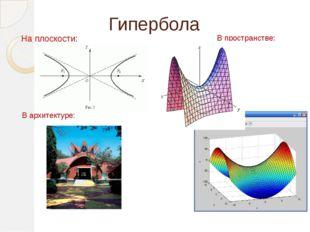 Парабола Параболой называется множество точек плоскости, равноудаленных от да