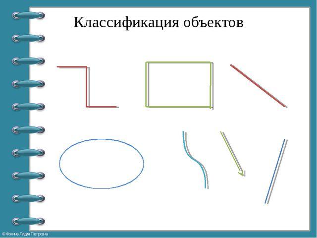 Классификация объектов © Фокина Лидия Петровна