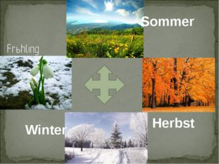 Sommer Herbst Winter