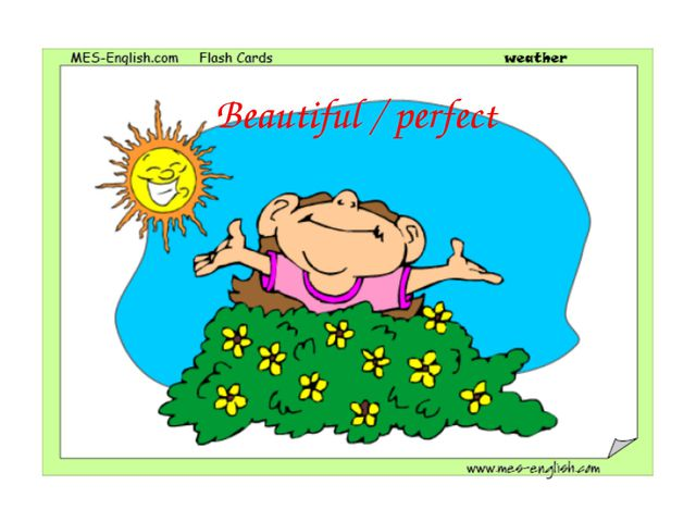 Beautiful / perfect