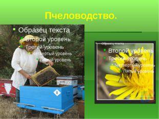 Пчеловодство.
