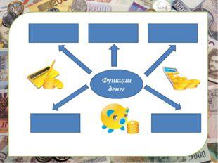 сс Функции денег