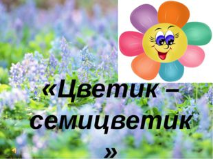 «Цветик –семицветик»