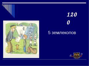 5 землекопов 1200