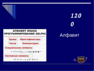 Алфавит 1200