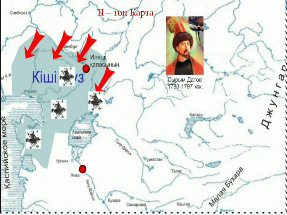 ІІ – топ Карта