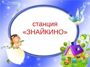 станция «ЗНАЙКИНО»