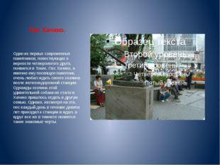 Пес Хачико. Один из первых современных памятников, повествующих о верности че