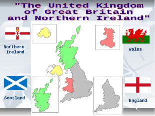 Northern Ireland Wales Scotland England