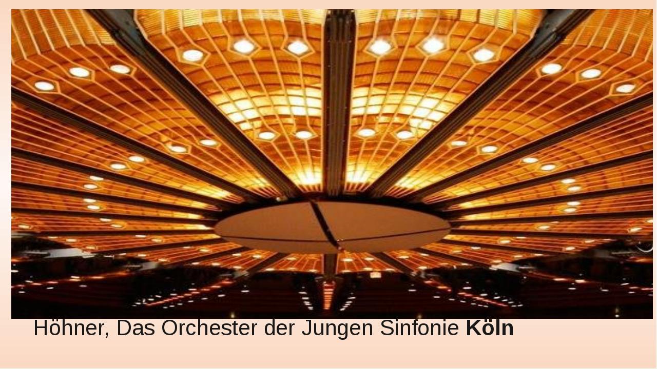 Höhner, Das Orchester der Jungen SinfonieKöln