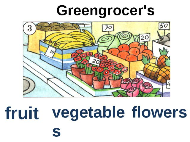 flowers Greengrocer's fruit vegetables