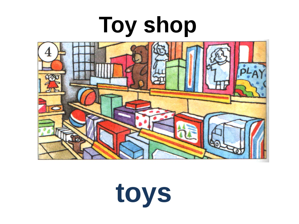 Toy shop toys