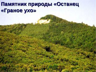 Памятник природы «Останец «Граное ухо»