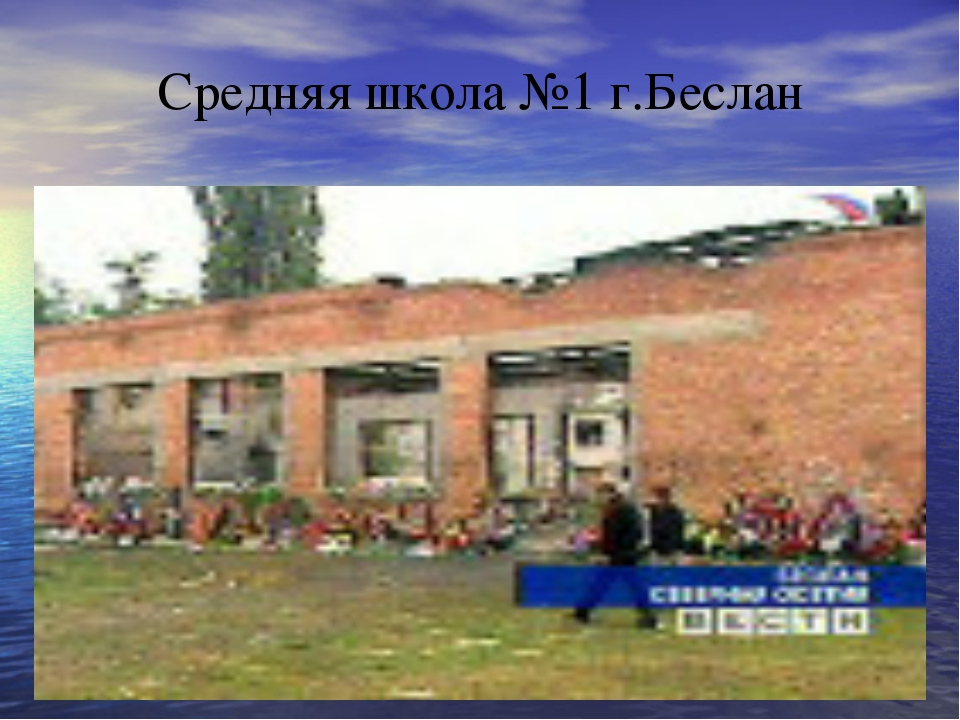Средняя школа №1 г.Беслан