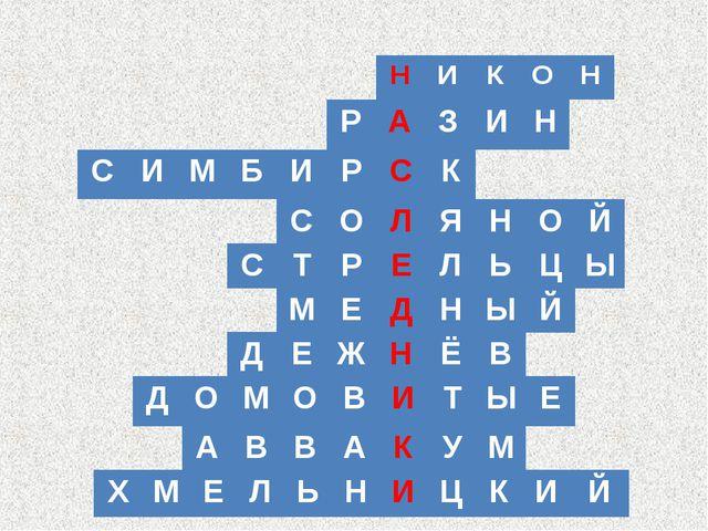 РАЗИН НИКОН СИМБИРСК СОЛЯНОЙ СТРЕЛЬЦЫ МЕДНЫЙ...